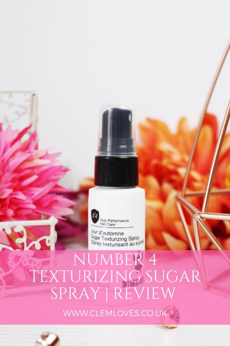 Clem Loves Number 4 Jour d'automne Sugar Texturizing Spray